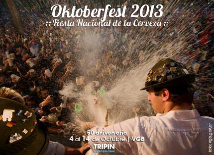 La Oktoberfest 2013 en Villa General Belgrano. La fiesta de la cerveza.