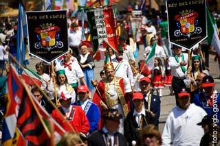El desfile de la Oktoberfest, una postal de la fiesta nacional de la cerveza