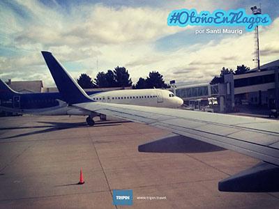 Comenzando el viaje por el #OtoñoEn7Lagos!