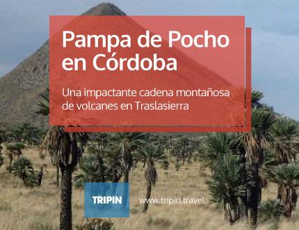 Pampa de Pocho en Córdoba, en la zona norte de traslasierra