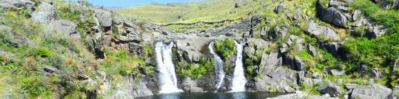 Cascada del Velo de la Novia en Pampa de Pocho