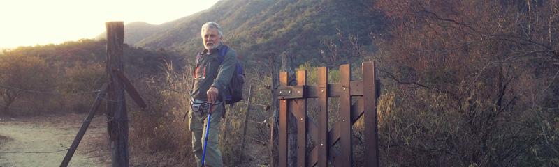 Julio, nuestro guía en Santa Rosa de Calamuchita