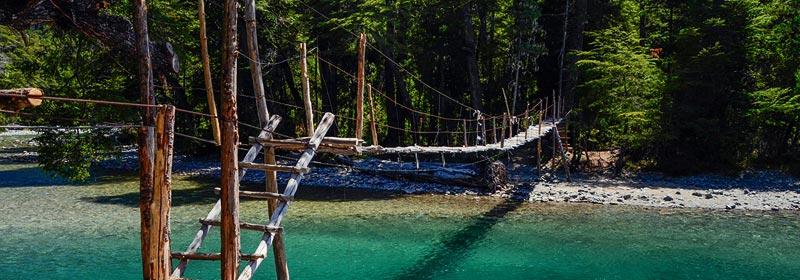 Cajón del Azul, El Bolsón en verano
