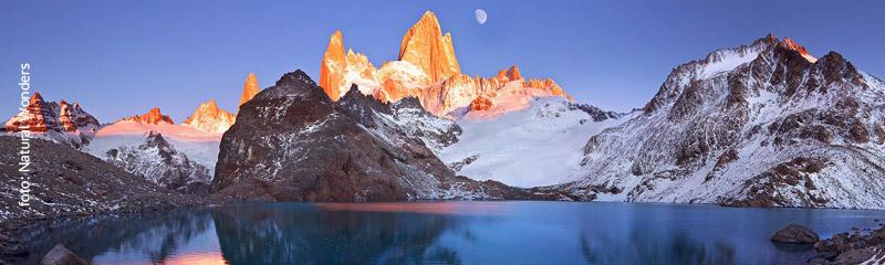Monte Fitz Roy en la Patagonia