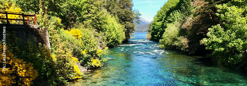Río Correntoso, Patagonia Argentina