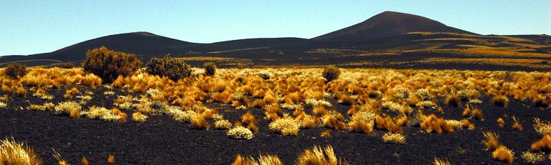 La Payunia, en Mendoza