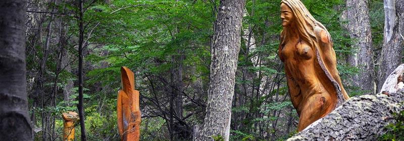 Bosque Tallado, El Bolsón