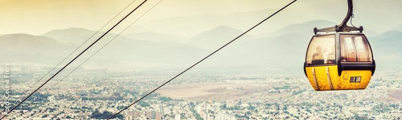 Teleférico San Bernardo en Salta