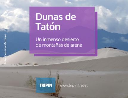 Dunas de Tatón en Catamarca, un inmenso desierto de montañas de arena
