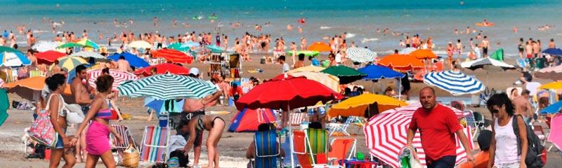 Temporada de verano en Monte Hermoso, Buenos Aires