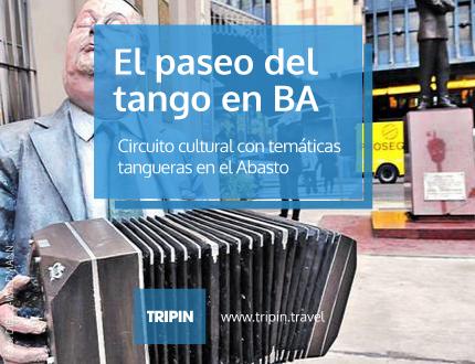 Paseo del Tango en Buenos Aires