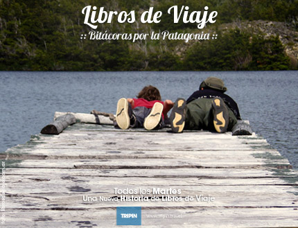 Libros de viaje en un paisaje de ensueño, el paso fronterizo las pampas en la Patagonia Argentina