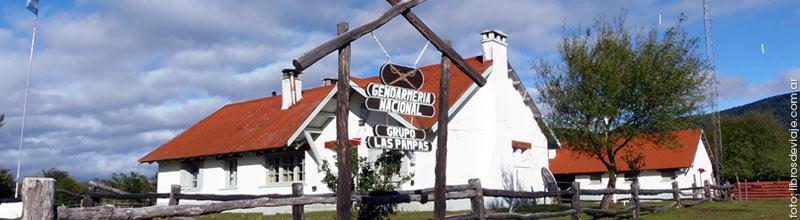 Gendermería del Paso Fronterizo Las Pampas en la Patagonia Argentina por libros de viaje