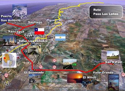 El mapa, Gentileza de mdzol.com