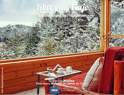 Libros de viaje en el Península Petit Hotel en Bariloche
