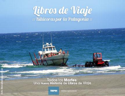 Libros de Viaje en Península Valdés y sus tractores acuáticos!