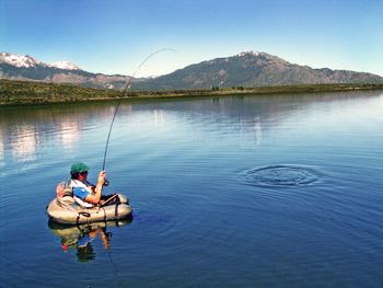 Pesca Deportiva en Chubut, el verano 2014 a full en la Patagonia Argentina