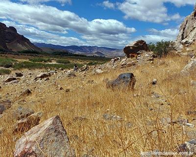 Los paisajes inigualables de la estepa patagónica