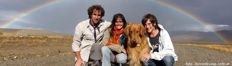 Libros de viaje, la familia que viaja por la Patagonia y nos hace viajar!