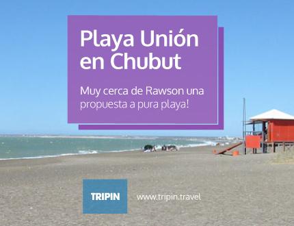 Playa unión en Chubut, el balneario de Rawson!
