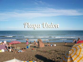 Playa Union a pura playa
