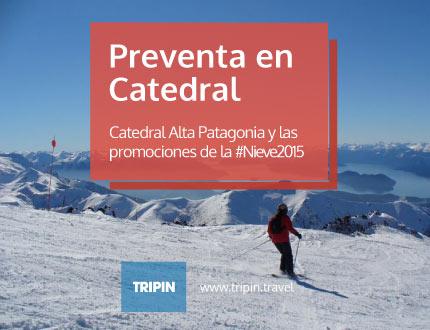 Catedral lanzo la preventa de la temporada 2015 de nieve! llega el invierno!