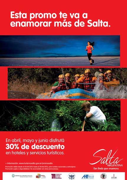 Promo 2013 en Salta 30% off