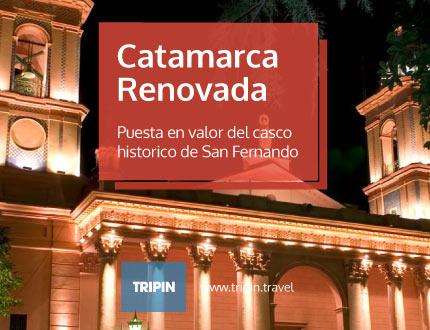 Puesta en valor del casco historico de San Fernando del Valle de Catamarca