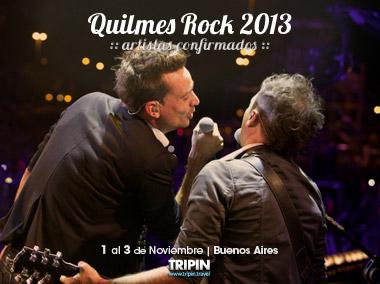 Quilmes Rock 2013, el festival de musica en Buenos Aires con artistas confirmados