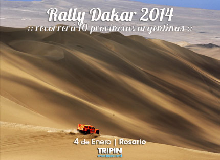 Rally Dakar 2014, recorrerá 10 provincias argentinas