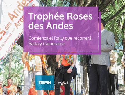 Comienza el Rally Trophee Roses des Andes en Salta y Catamarca