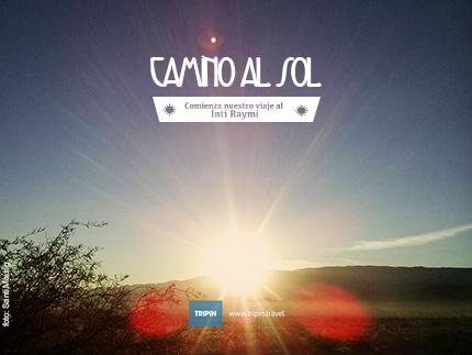 Camino al sol en el Inti Raymi 2015 en Catamarca!