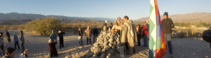 La ceremonia del Inti Raymi en Catamarca!