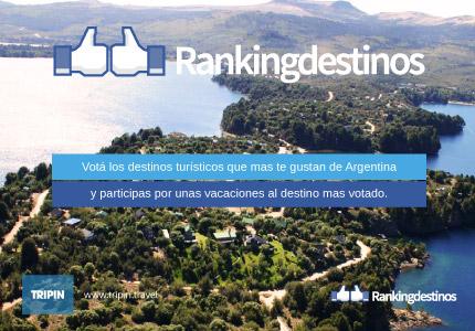 Ranking de destinos 2013