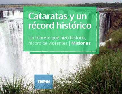 Cataratas del Iguazú y un febrero historico con récord de visitantes al parque nacional