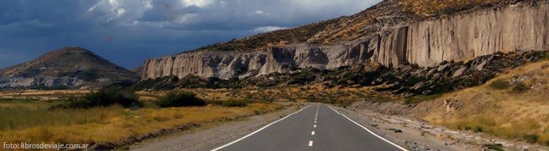 Las rutas y paisajes patagonicas por libros de viaje