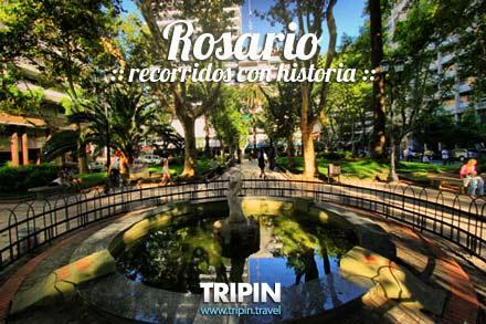 Rosario, Recorridos con historia