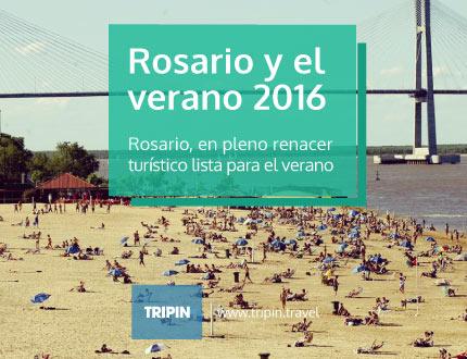Rosario preparandose con todo para el verano 2016