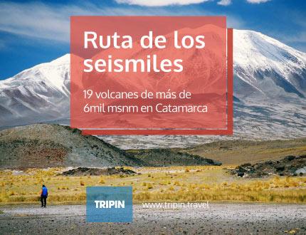La Ruta de los seismiles en catamarca, argentina
