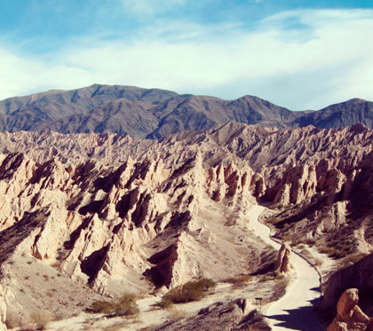 Quebrada de las flechas, un monumento natural imponente!