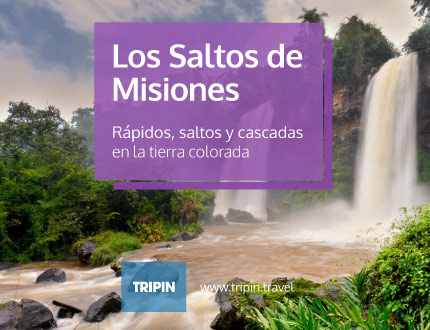 Los Saltos de Misiones, la tierra colorado y los magicos rapidos y cascadas