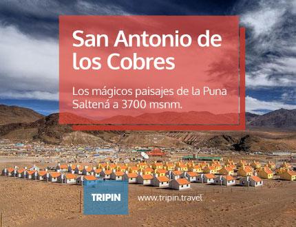 San Antonio de los Cobres en plena puna de Salta, ofrece unos paisajes de ensueño