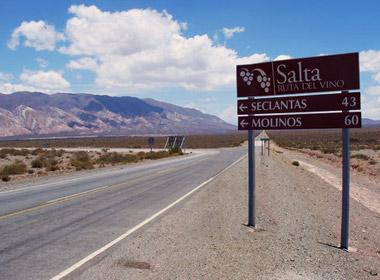 Camino a Seclantas, un paisaje único