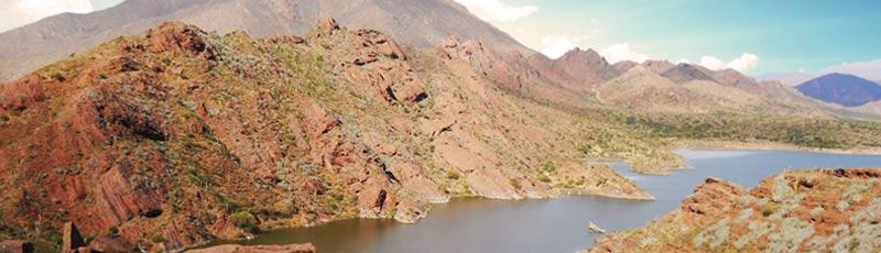 Laguna de Brealito, a pocos kilometros de Seclantas