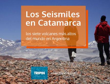 Los seismilies de Catamarca, siete de los ocho volcanes más altos del mundo