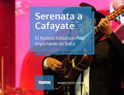Serenata a Cafayate, el festival folklorico mas importante de Salta