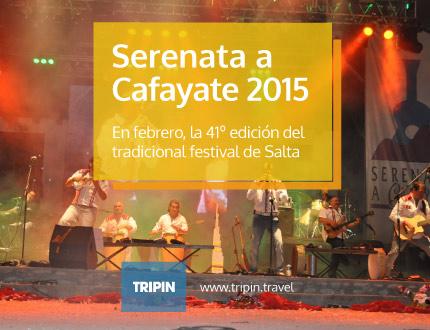 Serenata a Cafayate 2015, la tradicional fiesta de Salta será una fiesta inolvidable