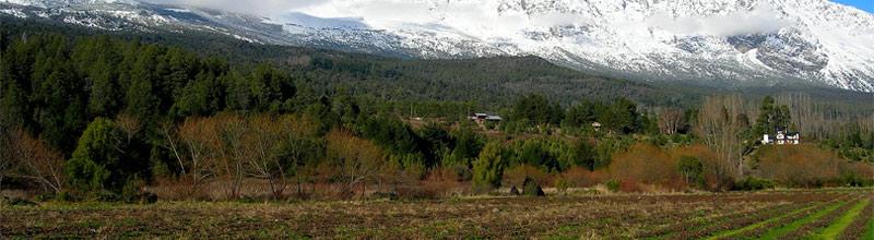 El cerro piltriquitron custodiando a El Bolsón
