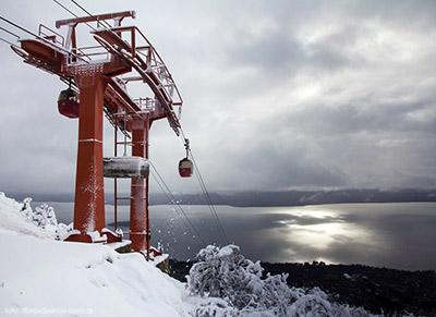 El teleférico del Cerro Otto, uno de los imperdibles de Bariloche