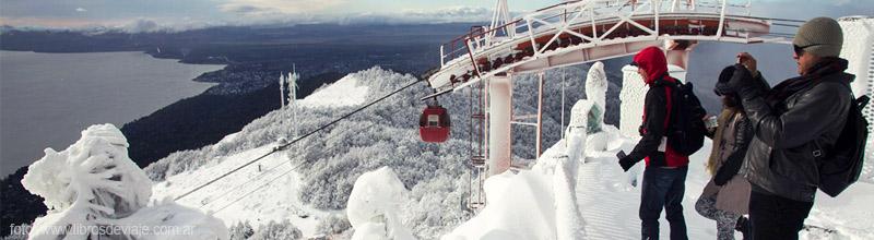 La vista increíble del Cerro Otto en Bariloche por Libros de Viaje